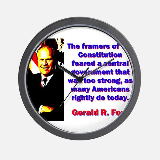 The Framers Of The Constitution - Gerald Ford Wall