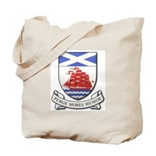 Cute Scottish society Tote Bag