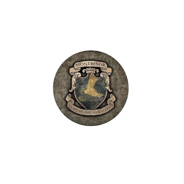 Monterors U Monterors: Montresor Coat Of Arms Mini Button By Opheliasart002