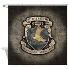 Montresor Coat Of Arms Shower Curtain