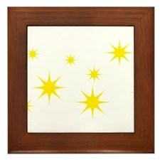 stars Framed Tile
