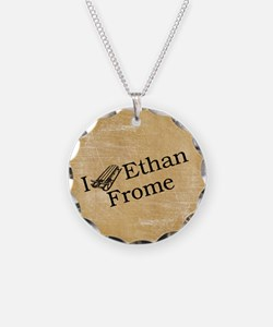 I (Sled) Ethan Frome Necklace