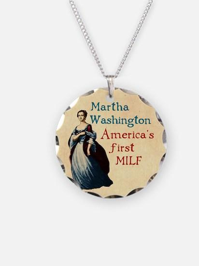 Martha Washington MILF Necklace