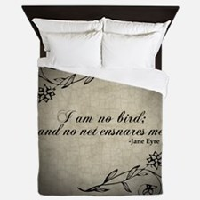 No Net Ensnares Me Queen Duvet