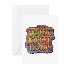 Do the Right Thing Greeting Cards (Pk of 20)
