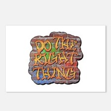 Do the Right Thing Postcards (Package of 8)