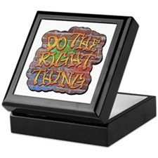 Do the Right Thing Keepsake Box