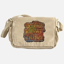 Do the Right Thing Messenger Bag