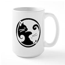 yin-yang-cat Mugs