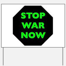 Stop War Now e9 Yard Sign