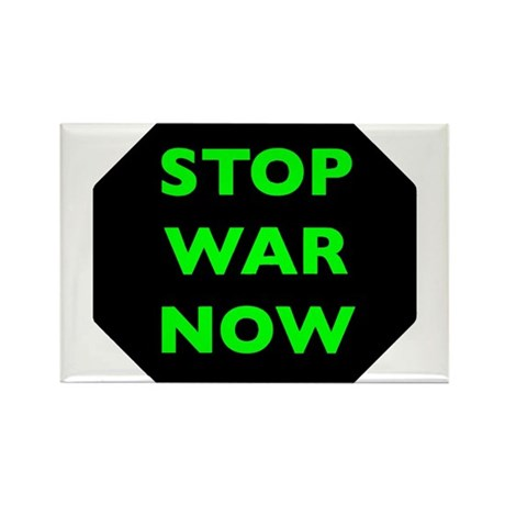 Stop War Now e9 Rectangle Magnet
