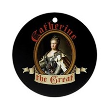 Catherine The Great Ornament (Round)