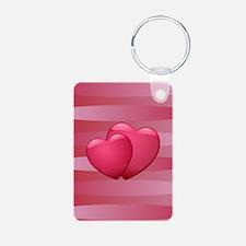 Cute lover hearts valentine Keychains