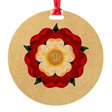 Tudor Rose Ornament