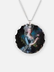 Marie Antoinette Portrait Necklace