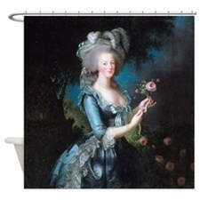 Marie Antoinette Portrait Shower Curtain