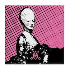 Marie Antoinette Pop Art Tile Coaster