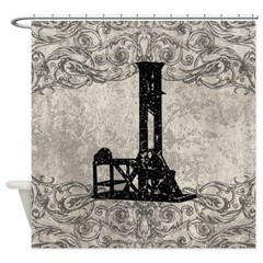 Guillotine Shower Curtain
