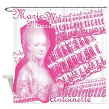 Pink Marie Antoinette Collage Shower Curtain