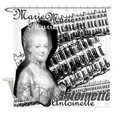 Marie Antoinette Collage Shower Curtain