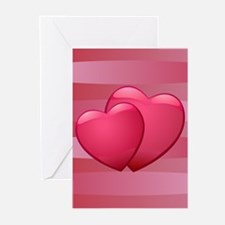 Cute lover hearts valentine Greeting Cards (Pk of