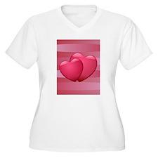 Cute lover hearts valentine T-Shirt