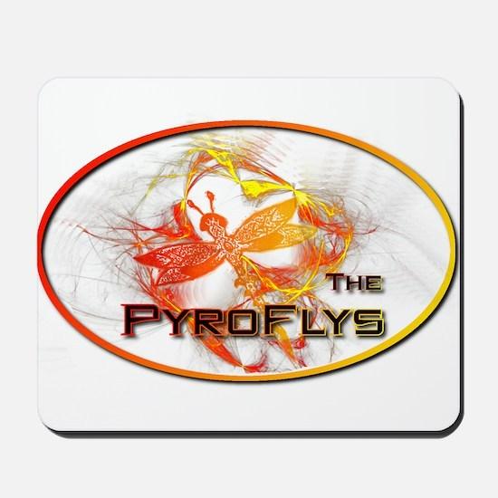 PyroFlys Logo Mousepad