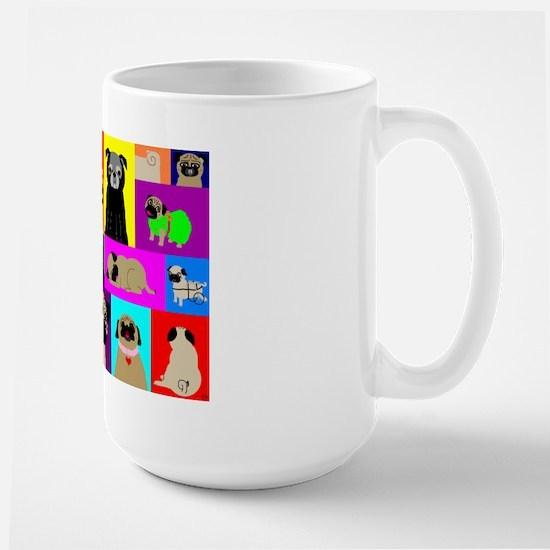 Lots o Pugs Large Mug