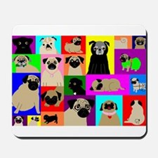 Lots o Pugs Mousepad