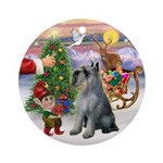 Treat for a Giant Schnauzer (P/S) Ornament (Round)