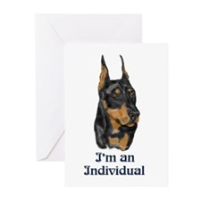 I'm an Individual (Dobe) Greeting Cards (Package o