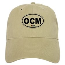 Ocean City MD - Oval Design. Baseball Cap
