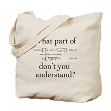 What Part of... Tote Bag