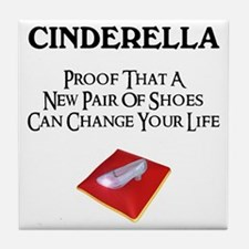 New Shoes Tile Coaster