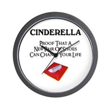 New Shoes Wall Clock