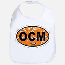 Ocean City MD - Oval Design. Bib