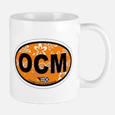 Ocean City MD - Oval Design. Mug