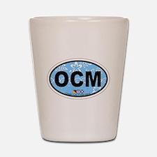Ocean City MD - Oval Design. Shot Glass