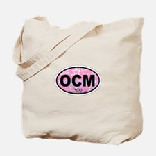 Ocean City MD - Oval Design. Tote Bag