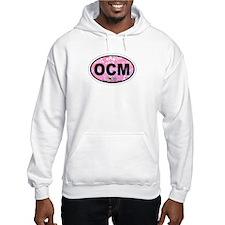 Ocean City MD - Oval Design. Hoodie