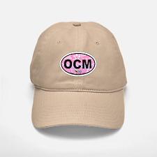 Ocean City MD - Oval Design. Baseball Baseball Cap