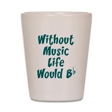 Cute Music Shot Glass