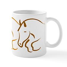 hunter jumper Mug