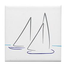 sailing Tile Coaster