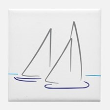 sailing Tile Coaster