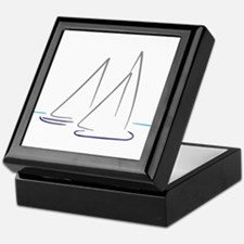 sailing Keepsake Box
