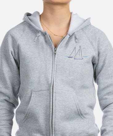 sailing Zip Hoody
