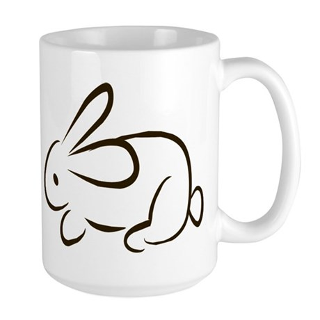 rabbit Large Mug