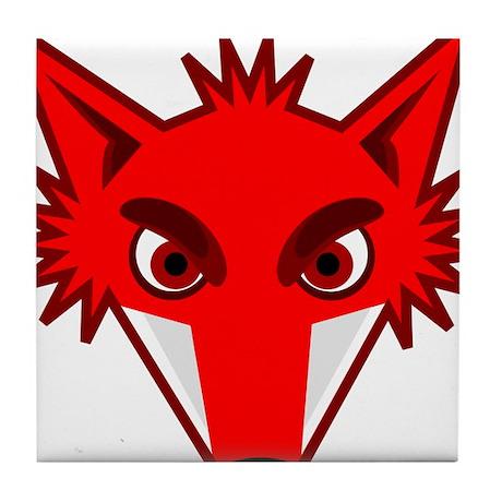 Fox Face Tile Coaster
