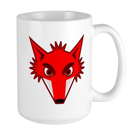 Fox Face Large Mug